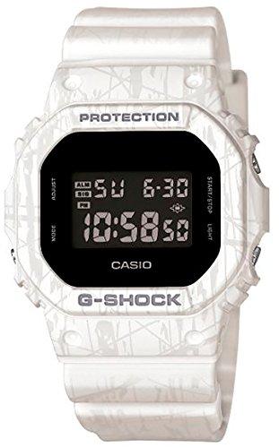 CASIO【カシオ G-Shock スラッシュ・パターン・シリーズ DW-5600SL-7 腕時計 ホワイト】【並行輸入品】