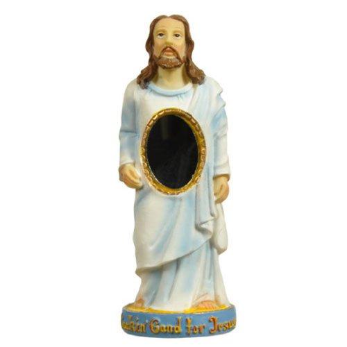 jesus-mirror-statue