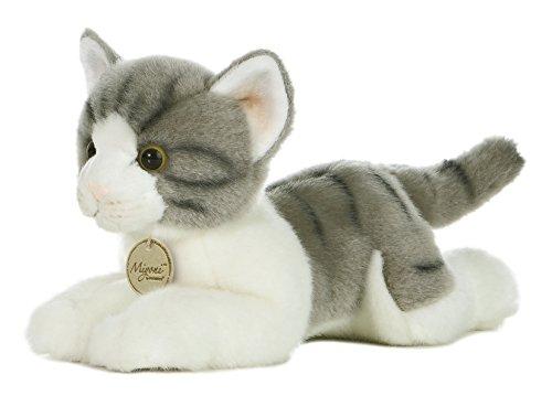 "Aurora World Miyoni 11"" Grey Tabby Cat"