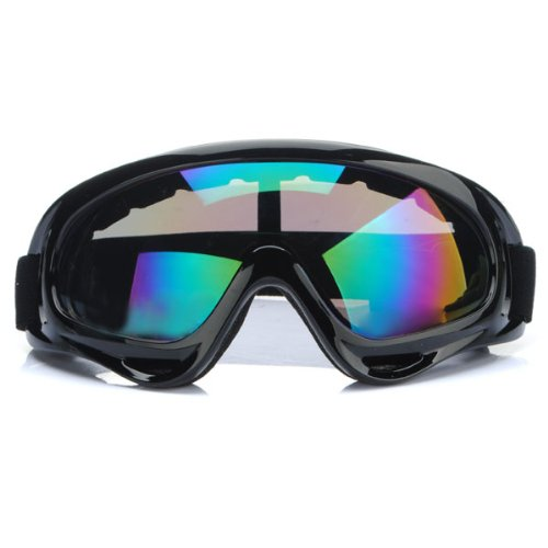 audew lunettes de ski moto motocross protection goggle anti uv ce. Black Bedroom Furniture Sets. Home Design Ideas