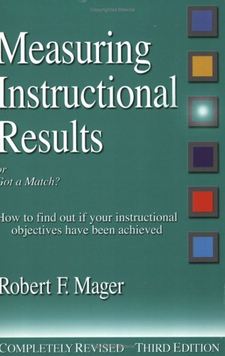 Measuring Instructional Results (The Mager Six-Pack)