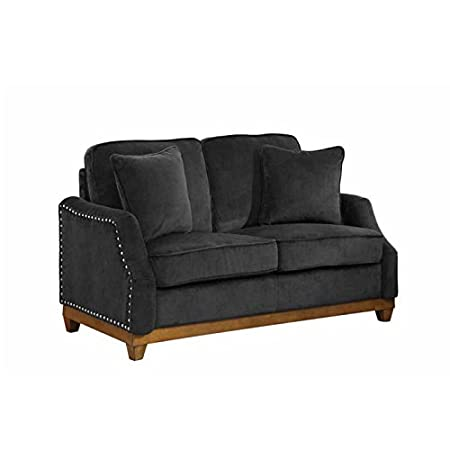 Acklin Collection Nailhead Trim Loveseat