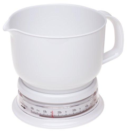 Salter 089Whdr Add & Weigh Balance culinaire mécanique. Capacité du pichet:1,5l et 2,2 kg