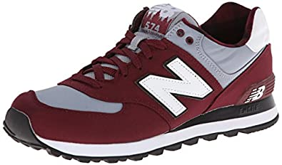 New Balance Classics Men's ML574 - Camping Collection  Ox Blood Sneaker 11 D - Medium