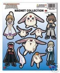 Tsubasa: Magnets Collection Set (Sakura, Mokona, Syaoran, Fai, Kurogane)