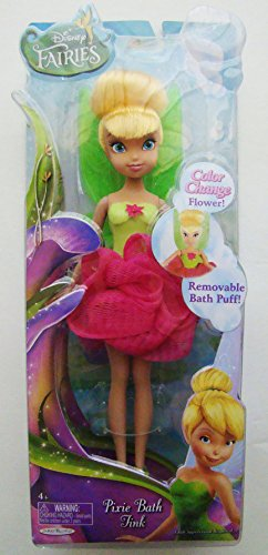 Disney Fairies Pixie Bath Tink Doll