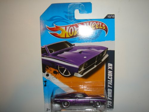 2012 Hot Wheels Muscle Mania - Ford '73 Ford Falcon XB Purple #120/247