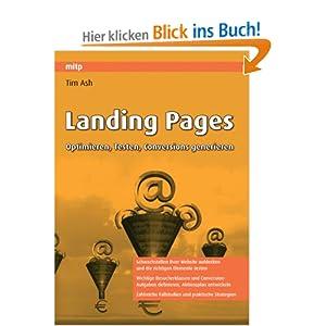 eBook Cover für  Landing Pages Optimieren Testen Conversions generieren mitp Professional