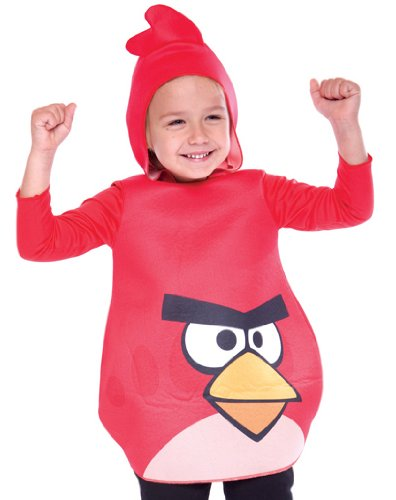 Angry Birds Red Bird Toddler Costume