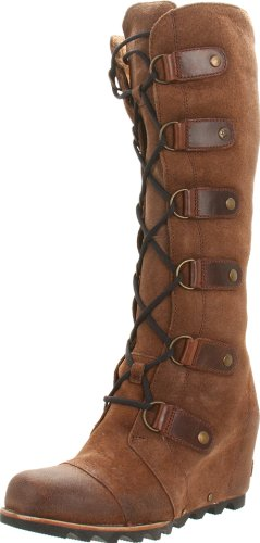 Sorel Womens Joan of Arctic Wedge LTR Boot Hawk Size 8 B(M) US