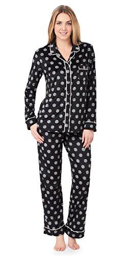 dkny-ensemble-de-pyjama-femme-black-dot-x-small
