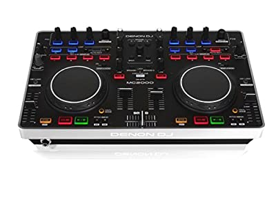 Denon DJ MC2000 Belt DJ Controller with Serato Intro