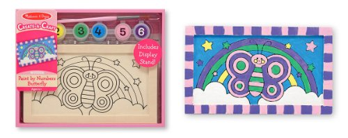 Melissa & Doug Paint by Numbers-Butterfly