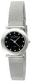 Skagen Womens 107SSSBD Stainless Steel Mesh Watch