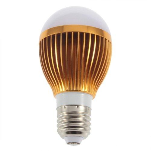 85-240V Warm White E27 Power Led Light Bulb Globe Lamp Medium Base 10W Hs