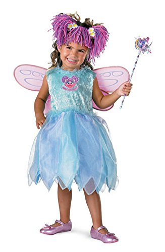 baby-girls - Abby Cadabby Deluxe Toddler Costume 12-18M Halloween Costume