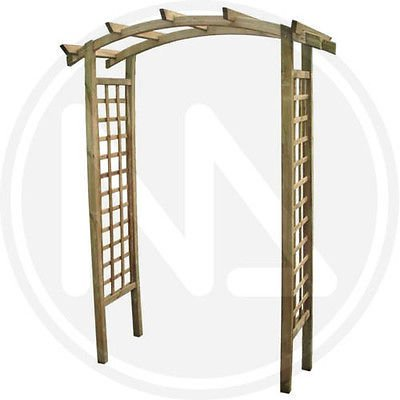 pergola aus holz impr gniert bahnsteig kiefer fsc top quality no china. Black Bedroom Furniture Sets. Home Design Ideas