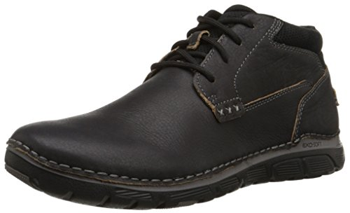 Rockport-Mens-Zonecush-Rocsports-Lite-Plain-Toe-Boot-Black-Tumbled-95-M-D