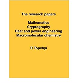 Research papers in mathematics