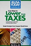 img - for Easy Ways to Lower Your Taxes: Simple Strategies Every Taxpayer Should Know book / textbook / text book