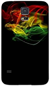 Timpax Protective Hard Back Case Cover Printed Design : Smoke and rhytmn.Exactly Design For : Samsung Galaxy S-5