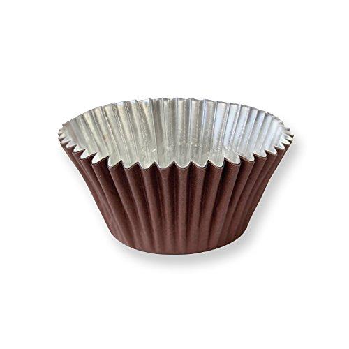 """PME Doublure en aluminium """"Marron chocolat Pâtisserie pour Cupcakes avec remplissage Plus profond, taille standard, 30Pièces"""