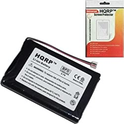 HQRP Replacement Battery Palm Tungsten E2 PDA + Screwdriver + HQRP Universal Screen Protector