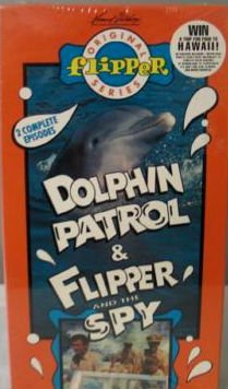 Flipper: Dolphin Patrol & Flipper & Spy [VHS] [Import]