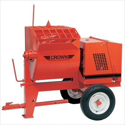 8S-G8 - 8 cu ft Mortar Mixer - 8 HP Briggs Standard w/ Options