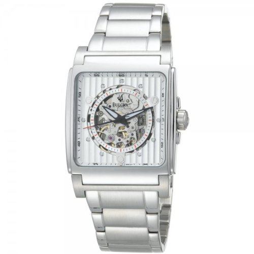 Bulova 96A107 BVA Series Stainless Steel Automatic Watch