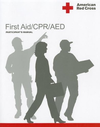 American Red Cross First Aid/CPR/AED Participant's Manual (American Red Cross Cpr Book compare prices)