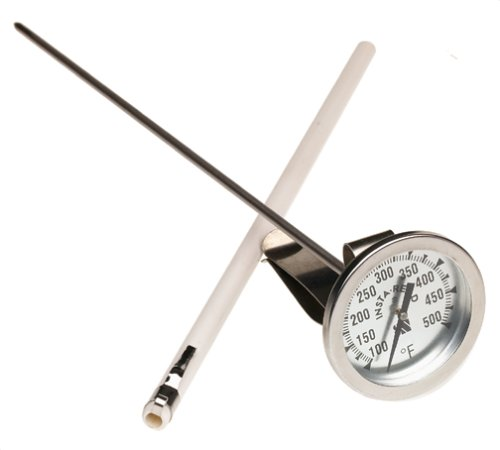 CDN IRL500 InstaRead Long Stem Deep Fry Turkey Thermometer