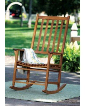 Merry Garden MPG-PT-41113OS Oversized Classic Rocking Chair, 26.5
