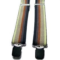 Gay Rainbow Sisters Bear Pride Suspenders Size XL Bear Browns