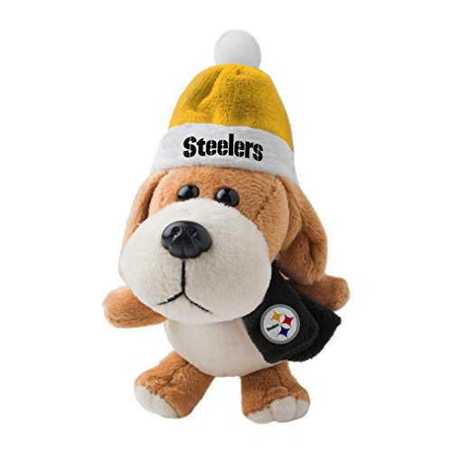 NFL Pittsburgh Steelers Plush Dog Ornament