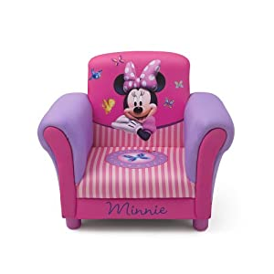 Disney Minnie Mouse Upholstered Chair by Delta