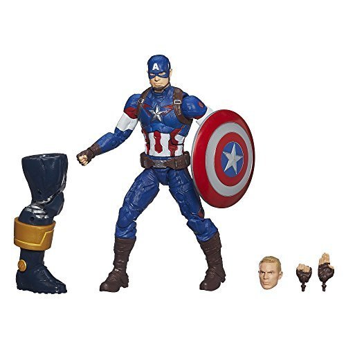 Marvel Legends Infinite Series Captain America 6-Inch Figure by Hasbro