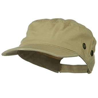 Rip Stock Hex Billed Military Cap - Desert
