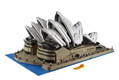 Amazon.com : LEGO Creator Expert 10234 Sydney Opera House : Toy Interlocking Building Sets