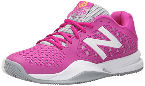 New Balance Women's 996v2 Tennis Shoe, Pink, 8 D US