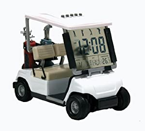 Buy ProActive Sports Golf Cart Clock, White (1:18 Scale) by ProActive