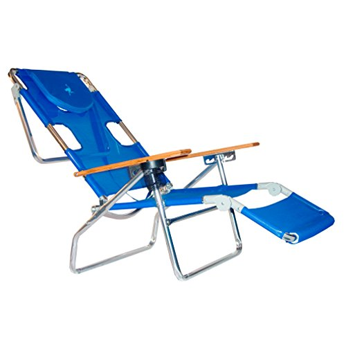 Ostrich 3 N 1 Beach Chair / Lounger Color: Blue [3N1-1001B]