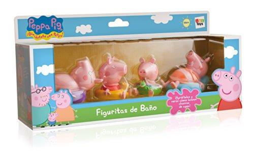 IMC-TOYS-715098-Figuritas-para-el-bao-Peppa-Pig-4-figuras-surtido