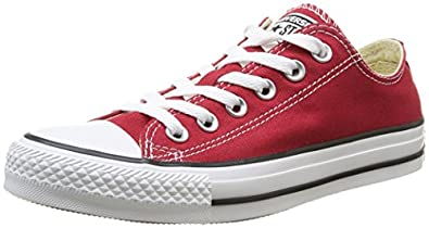 Converse AS Ox Can red M9696, Unisex-Erwachsene Sneaker, Rot (red), EU 36.5 (US 4)