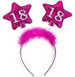 Haarreifen 18. Geburtstag Haarband Party