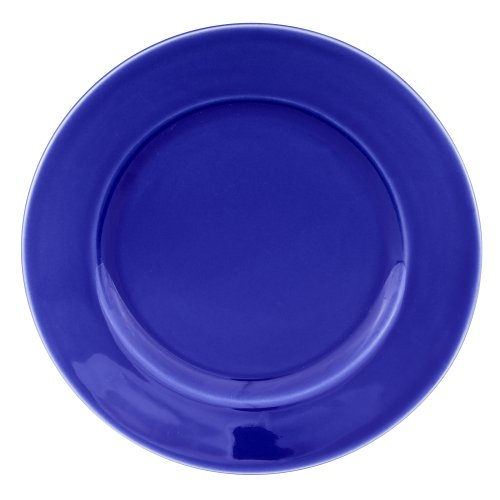 Buy Zak Designs Moxie Dark Blue 9-1/2-inch Salad Plate, Set of 4