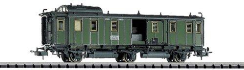 Trix-23018-Schnellzug-Packwagen-Klasse-Bayerischer-Staatsbahnen