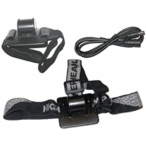 Zubehörpaket (Helmhalterung, Stirnlampenhalterung, Verlängerungskabel) für MJ-808, MJ-816, MJ-838, MJ-868, MJ-856, MJ-870 bikelight.eu 900, 1000 Magicshine.eu / bikelight.eu