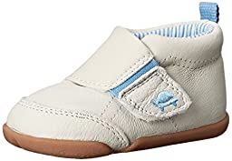 Carter\'s Every Step Bobby Stage 2 Stand Walking Shoe (Infant/Toddler), Blue/Ivory, 3 M US Infant
