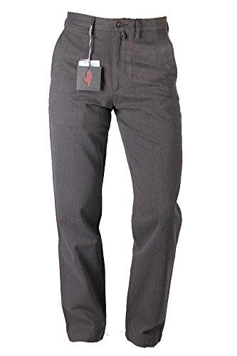 pantalones-marlboro-classics-gr-46-algodon-de-colour-marron-oscuro